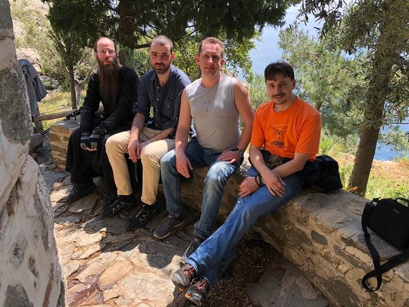 афонские паломники