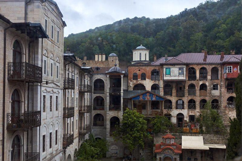 монастырь зограф фото