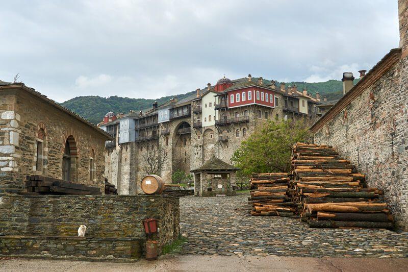 монастырь Иверон, Афон