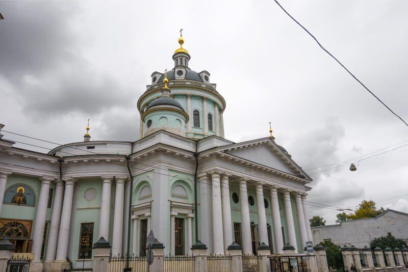 храм Мартина Исповедника на Таганской фото