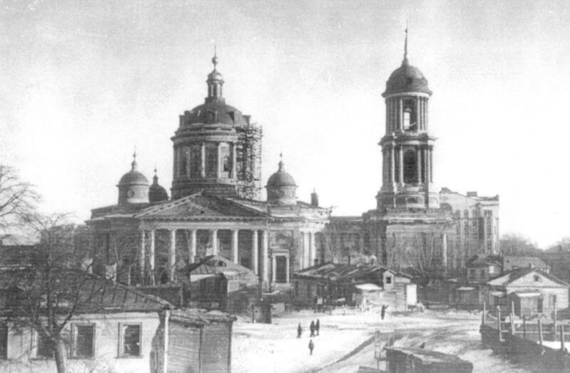 церковь Мартина исповедника до революции