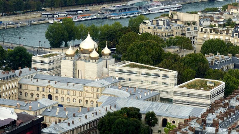 Свято-Троицкий собор в Париже фото