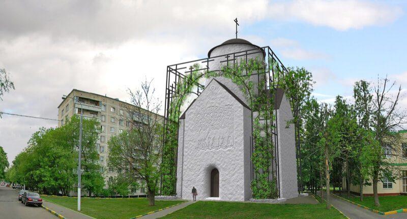 Храм 40 севастийских мучеников в Москве