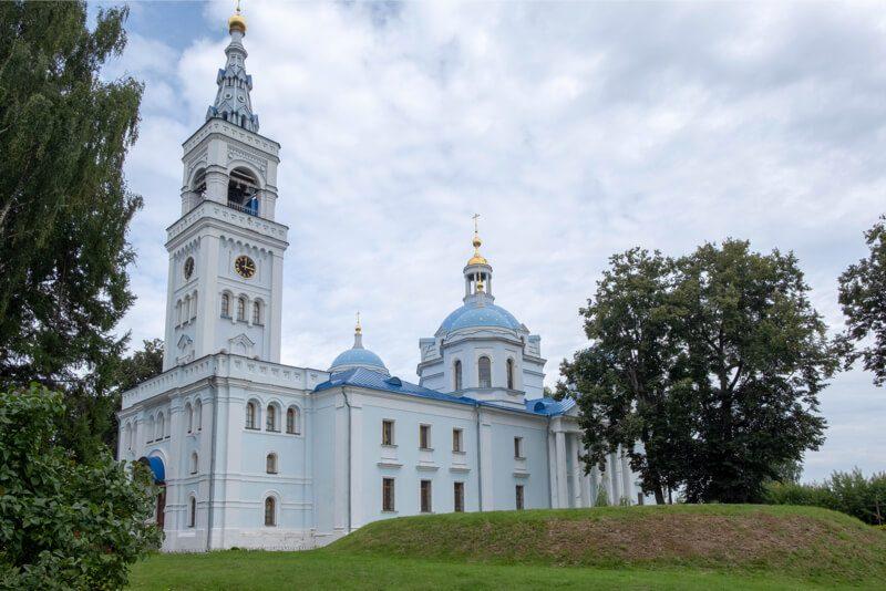 Спасский собор Спасо-Влахернский монастырь