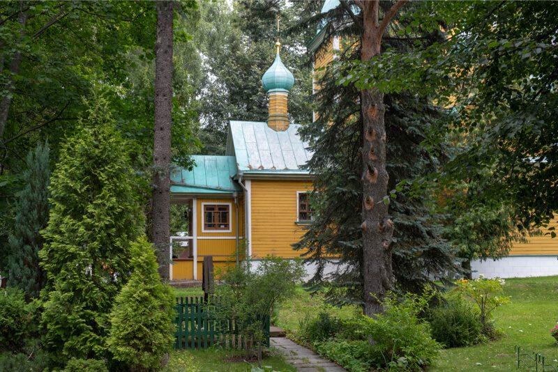 Храм Дмитрия Солнуского Влахернский монастырь