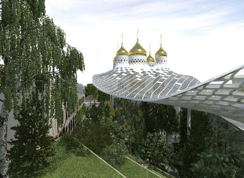 проект троицкого собора в париже