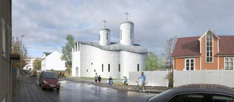 православный храм в Исландии