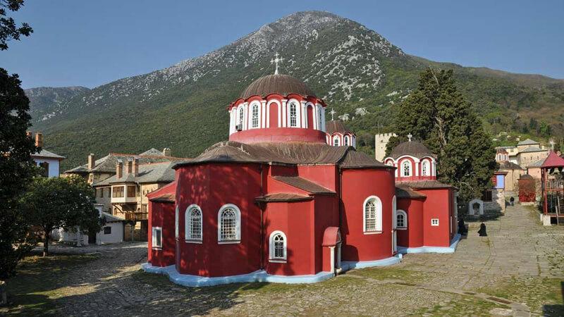 Афонский монастырь