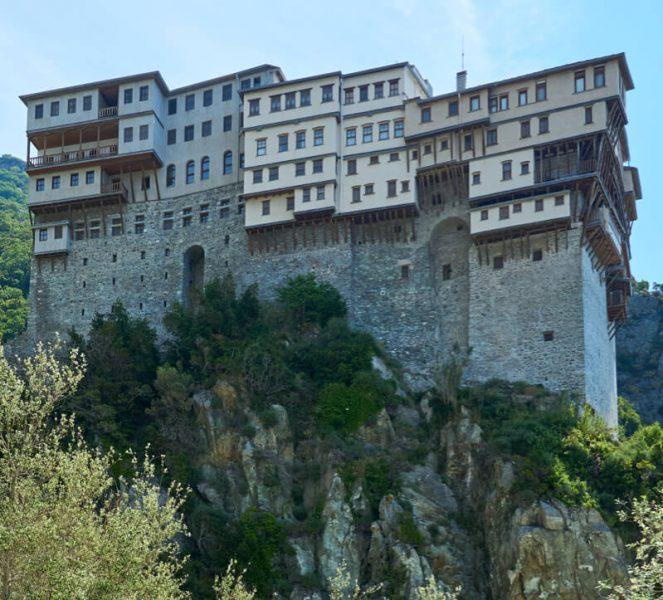 Монастырь Дионисиат фото