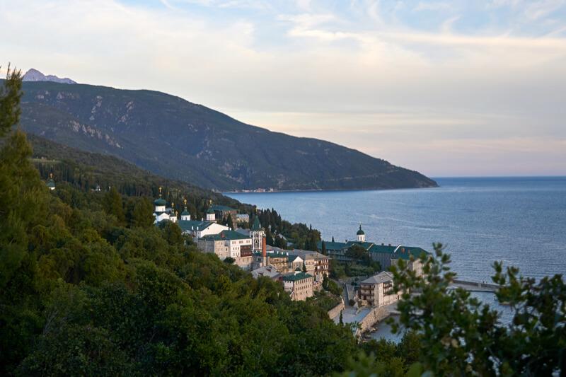 Пантелеимонов русский монастырь на Афоне