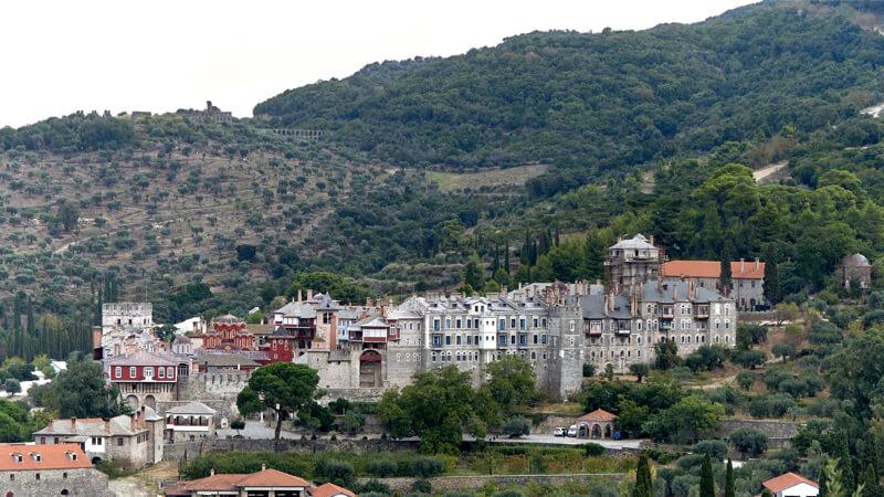 Монастырь Афона Ватопед
