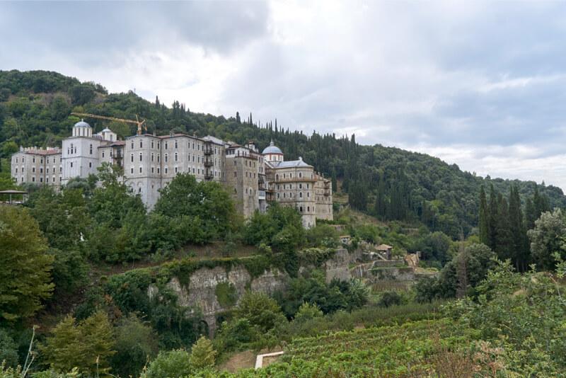 Афонский монастырь Зограф