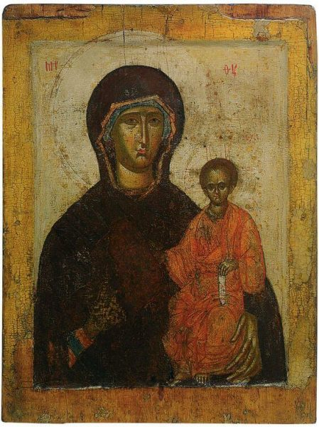 Древняя русская икона.