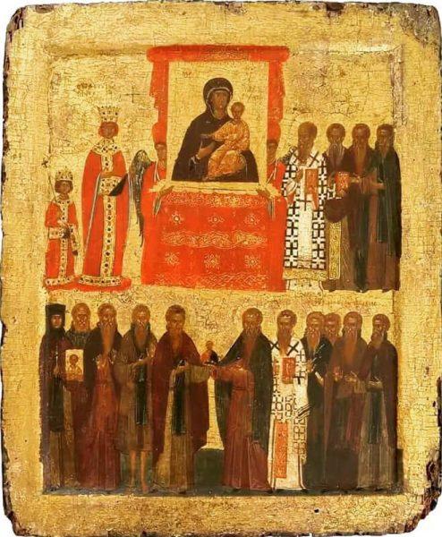 Икона 15 века