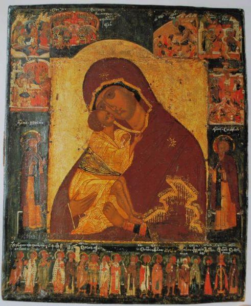 Икона из монастыря Святой Екатерины