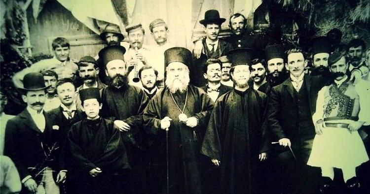 Святой Нектарий Эгинский и ученики его школы