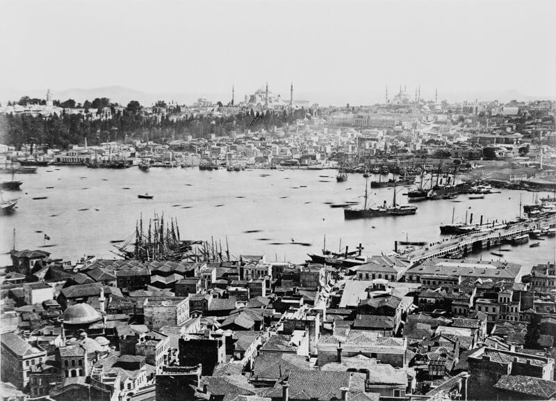 константинополь фото 19 века