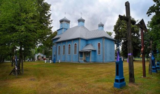 Деревянный храм в Польше