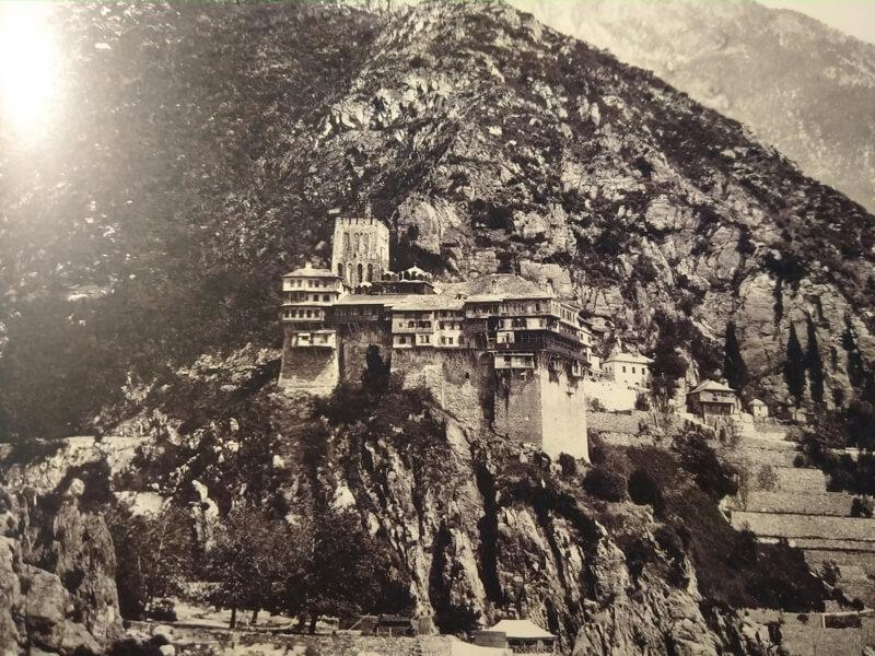 Монастырь Дионисиат фото 19 века