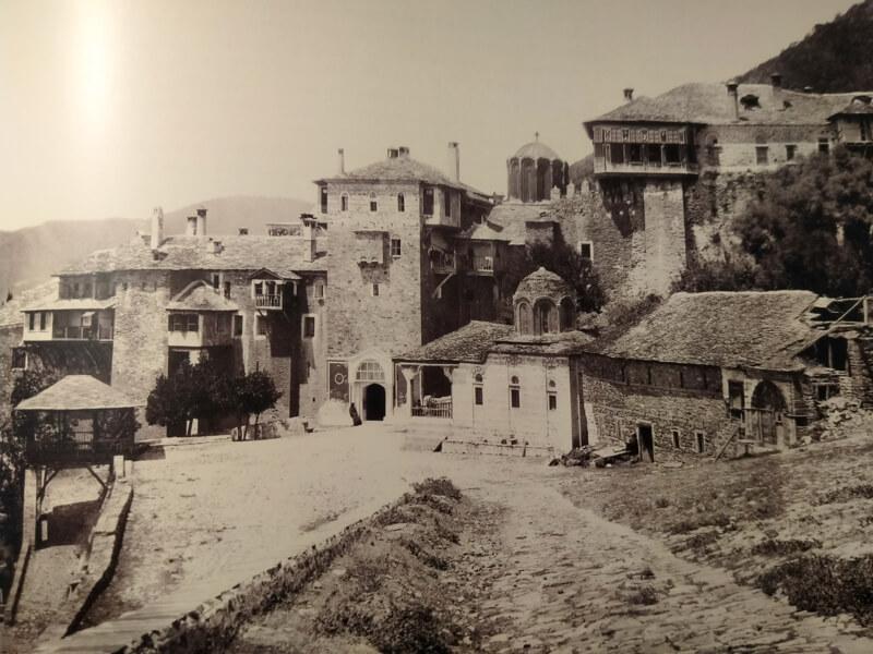 Монастырь Дохиар, фото 19 века