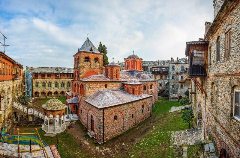 Афонский монастырь Филофей