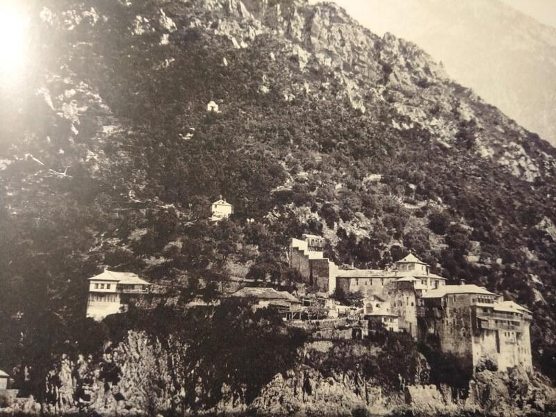Монастырь Григориат, фото 19 века