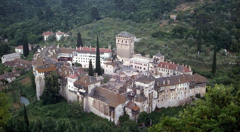 Афонский монастырь Хиландар