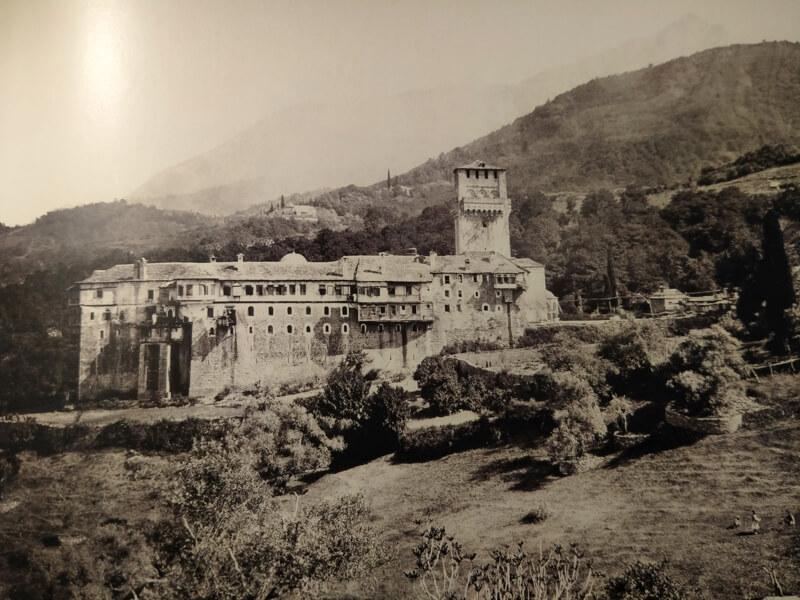 Монастырь Каракал, фото 19 века