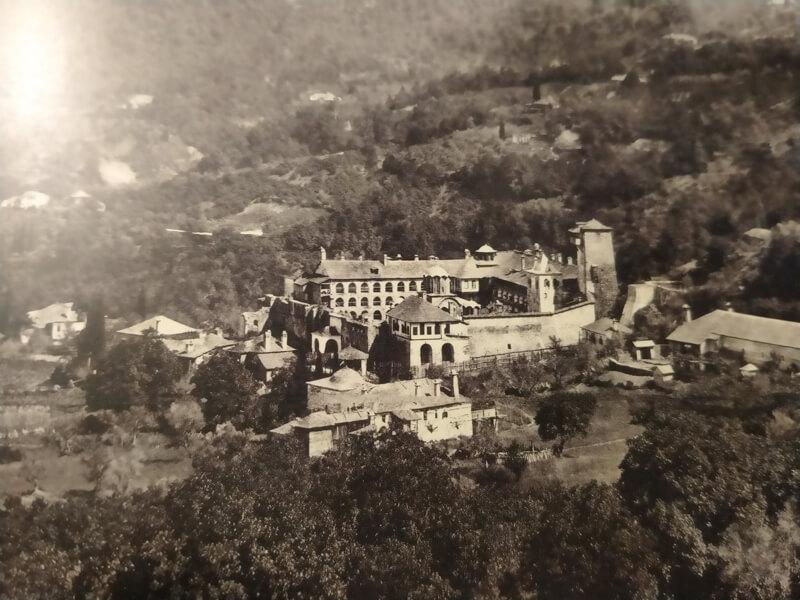 Афонский монастырь Кутлумуш 19 век
