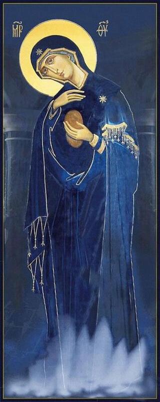 Светописанная икона Божией матери