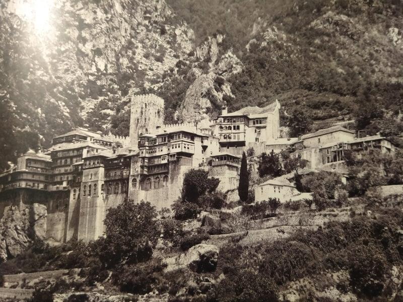 Монастырь Святого Павла, фото 19 века