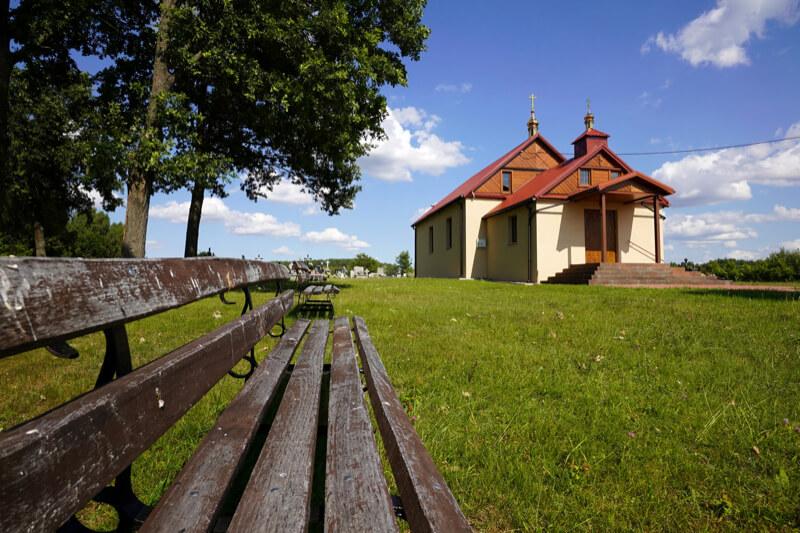 Сельский храм в Польше