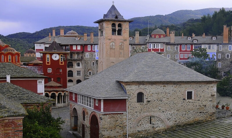 Афонский монастырь Ватопед