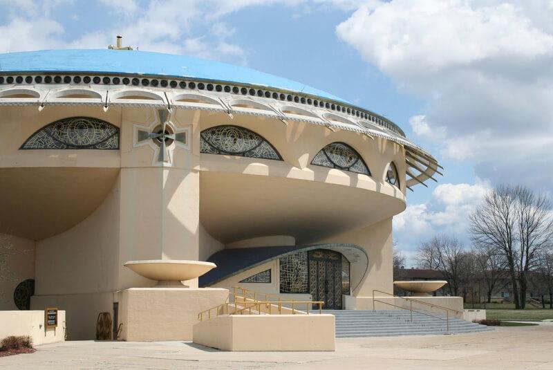 Френк Ллойд Райт, православный храм