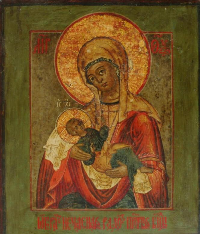 Икона Божией Матери Нечаяная радость