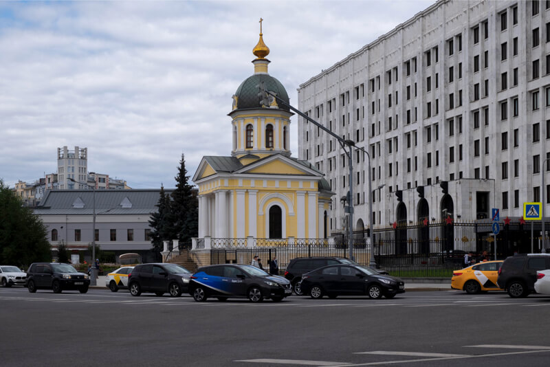 Храм Бориса и Глеба на Арбатской