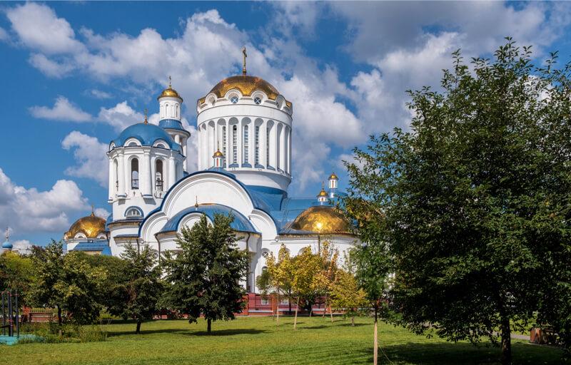 храм Моковских святых в Бибиреве