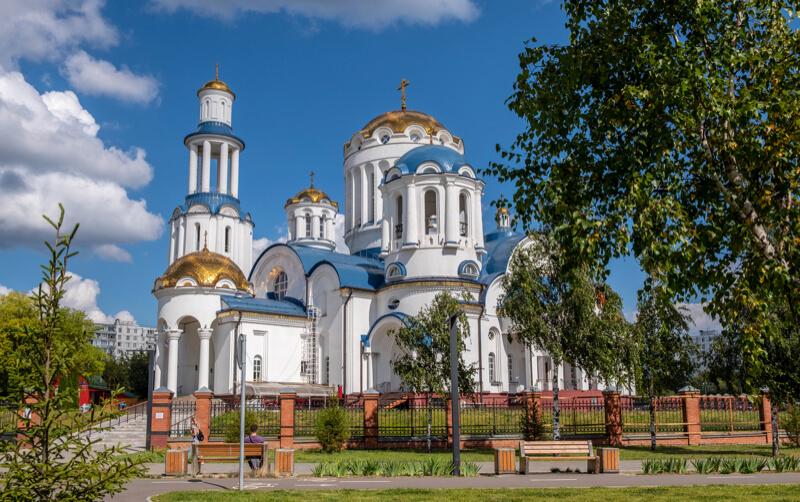 Храм Московских святых в Бибиреве