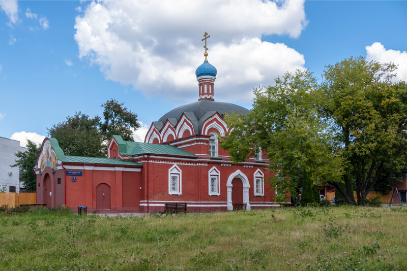 храм преподобного Сергия в Бибиреве